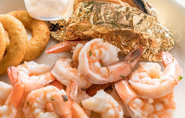 Boiled Jumbo Shrimp Hot or Cold