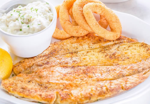 Broiled Flounder