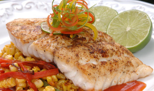 Broiled Grouper