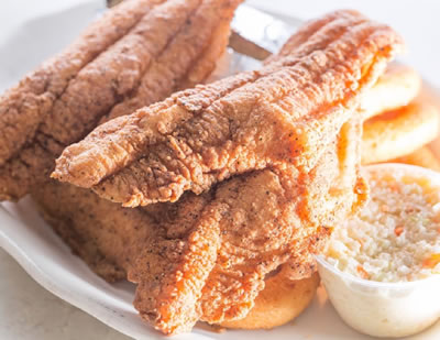Fried Catfish Fillet