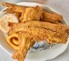 Fried Whole Catfish