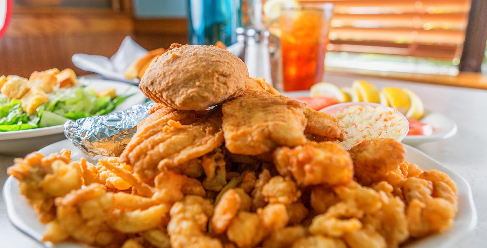 Seafood Restaurant Marietta Bay Breeze Family Restaurant